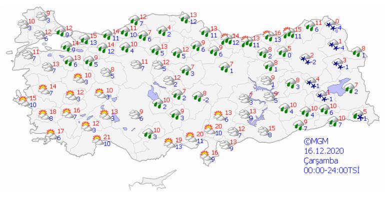 Son dakika haberler: Meteorolojiden çok önemli uyarı Hem sağanak, hem kar...
